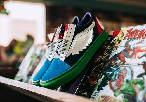 Marvel & Vans Team Up For New Avengers Themed Collection