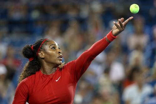 new styles 8abe9 ebf19 In celebration of Serena Williams  return to the U.S. Open this week, Nike  has introduced a new ad which features home videos of the tennis star when  she ...