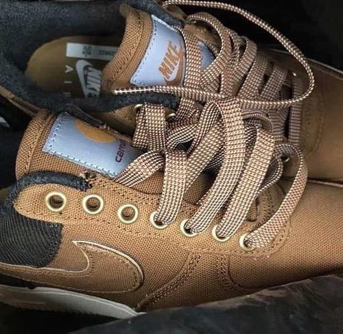 a809049fc4 Carhartt WIP has reportedly teamed up with Nike for a pair of premium Air  Force 1 Lows which are set to hit retailers just in time for the winter  months.