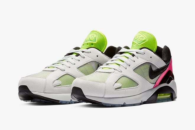 5e4a3137b6d Nike has launched a brand new line of Air Max sneakers which might be  designed to pay tribute to Berlin's membership tradition. The Air Max 180  BLN options ...