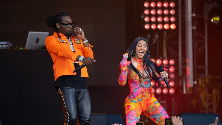 Cardi B S New Back Tattoo Might Be Her Biggest One Yet: Cardi B Facetimes Offset To Show Off New Tattoo Of His